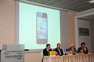 """mobile"" issues dominated in the plenary lectures"